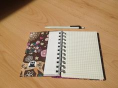 Notzibuch Rezeptbuch Sketchbook Tagebuch mit Stoffcover | Etsy