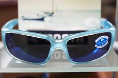 "Costa Del Mar White Logo  Sticker//Decal Sunglasses Eye Wear Outdoor Approx 5"""