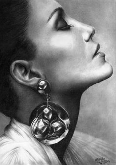 jennifer lopez. by marika-k  | First pinned to Celebrity Art board here... http://www.pinterest.com/fairbanksgrafix/celebrity-art/ #Drawing #Art #CelebrityArt
