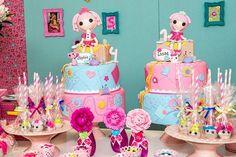 Casinha de Criança: decoração festa lalaloopsy