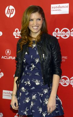 "Anna Kendrick before the screening of ""Happy Christmas"" at the Sundance Film Festival premiere. Neon Girl, Girl Sign, Sundance Film Festival, Anna Kendrick, Photo Galleries, Salt, Actresses, Celebrities, Happy"