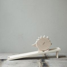 Hedgehog: Smiles and totters down the ramp! Elephant also available. $44