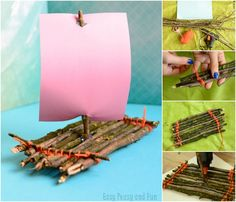 Next time you go out for a walk in the nature do gather some twigs, as we're showing a fun tutorial on how to make a lovely twig boat craft today. I do love recycled and nature crafts a whole lot, not only are they fun to make they also spark a whole lot of …