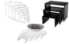 Acrylic Risers | Plastic Stands and Fixtures for Store Display