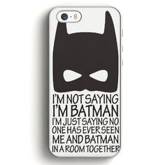 Batman Not Together In Room iPhone SE Case | Aneend