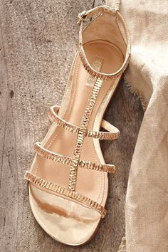 Schutz Jeweled Gladiators - anthropologie.com