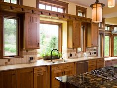 Traditional/Arts and Crafts style.  Modern Kitchens from Danenberg Design : Designers' Portfolio 4237 : Home & Garden Television