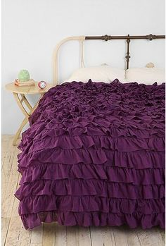 Waterfall Ruffle Duvet Cover    $149.00-$199.00 at urban outfitters