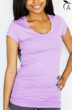 Top Lilac Tee – Appleletics | Not in your size? Find more at Appleletics.com!