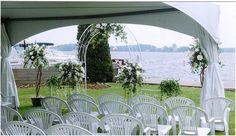 The Gananoque Inn & Spa, Gananoque, Ontario Waterfront Wedding, Wedding Venues, Hotel Inn, Fine Hotels, Hanging Chair, Ontario, Spa, Destination Weddings, Inspiration