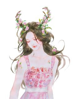 Visit the post for more. Chibi Manga, Manga Art, Anime Art, Watercolor Girl, Kawaii, Beauty Art, Art Tutorials, Art Girl, Fantasy Art
