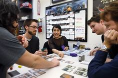 EndGame: A cool store in downtown Oakland that sells mostly board games, but also hosts weekly free gaming events, fostering a real game geek community.