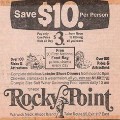 Coupon for Rocky Point Park