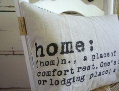 Home, home, home