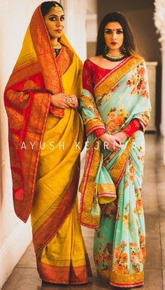 Indian bride looks the best when she wear a saree! Ethnic Fashion, Asian Fashion, Indian Dresses, Indian Outfits, Indian Look, Stylish Blouse Design, Saree Trends, Stylish Sarees, Indian Attire