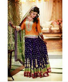 Latest Bridal Mehndi Dresses Designs 2016-2017 Collection   StylesGap.com