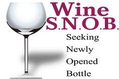 Wine Snob. I'm in!