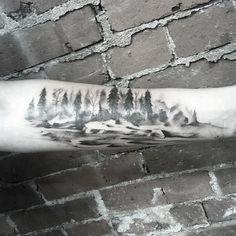 Canoe down rivers.  #tattoo
