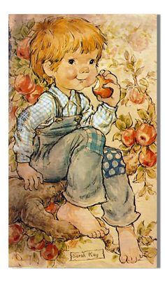 Sarah Key, Love Pictures, Beautiful Pictures, Vintage Drawing, Sweet Pic, Holly Hobbie, Australian Artists, Illustrations, Cute Illustration
