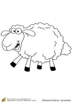 Animaux De La Ferme Pour Coloriage.274 Meilleures Images Du Tableau Coloriages Animaux De La Ferme