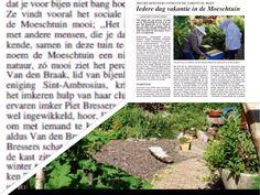 We staan weer in de krant..... Brabants Centrum vorige week op de koffie!