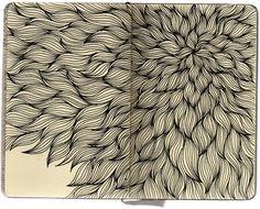 Stephanie Kubo. Sketchbook drawings.