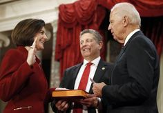 Nevada's Cortez Masto, the first Latina in the U.S. Senate, is sworn into office.