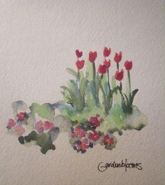 Acuarela flores