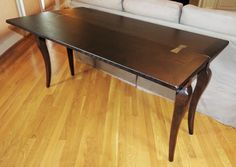 Arhaus Chestnut Flip Console Table