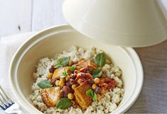 Making a mouthwatering Moroccan-inspired meal doesn't have to be difficult - this no-fuss one-pot dinner is full of flavour