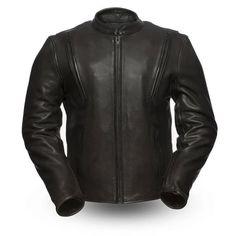 Men/'s Real Black Leather Biker Jacket Harley Davidson S M L XL 2X 3X 4X 5X 6X