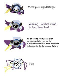 Increasingly Verbose Meta Knight