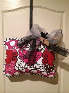 Be my valentine burlee hanger