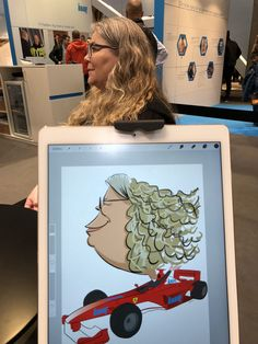 ipad Live karikatur med Allan Buch. farve profilfoto3 Caricatures, Ipad, Live, Illustration, Caricature Drawing, Illustrations, Caricature