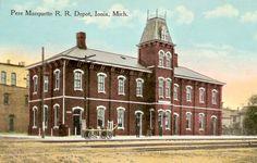 1914 Ionia Pere Marquette RR Depot