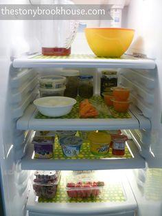 door chevron fridge liners refrigerator diy sweethaute shelf