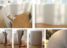 Molo Design's range of softwalls is basically a portable wall, which allows you to create intimate spaces within a room.