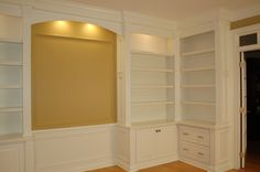 Custom Home Office - Artisan Custom Bookcases