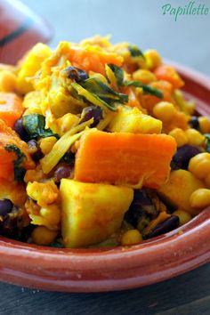 Papillette: Vegetable Tagine