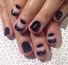 Black and negative space