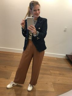 Blazer With Jeans, Head To Toe, Personal Stylist, Fashion Stylist, Spring Fashion, What To Wear, Stylists, Brown Pants, My Style