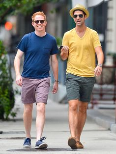 Just Married! Newlyweds Jesse Tyler Ferguson and Justin Mikita show off their wedding bands!