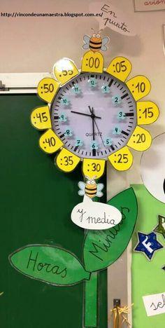 Reloj flor