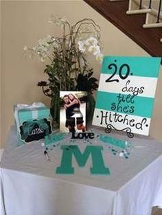 Tiffany Wedding Shower Ideas - Bing Images