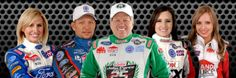 John Force Racing Family,,,whatever, puke.  His daughters would not be racing if he wasn't their Daddy.
