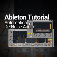 Ableton Live is a treasure trove for musicians, sound designers and audio editors. It turns out you can create a de-noise module without 3rd party plug-ins if you know how. I love RX by iZotope. I especially love the dialogue/vocal de-noise module. I just click the button, sample a bit of the background noise, and …
