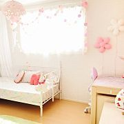 Bedroom/IKEA/子供部屋/Francfranc/フランフラン/キッズルーム...などのインテリア実例 - 2015-12-28 05:06:48