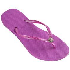 2a7d2f20468a Havaianas Slim Crystal Flower Women s Sandal Flip Flop Shoes