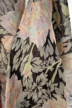 Tea Gown - detail - 1926 - by Jessie Franklin Turner (American, 1881-ca. 1956) - Silk