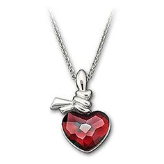Swarovski Ties of Love Pendant True to its name, the pendant has a red heart in Light Siam Satin crystal with a delicate rhodium-plated ribbon wrapped on top. The heart signifies love and the wrap lends it a touch of warmth. The pendant reflects a special bond - strong yet delicate. This pendant comes on a chain. Article no.: 992701 Approximate size: 15 / 13/16 x 1 inches $ 100.00